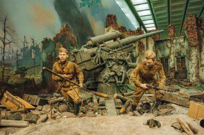 Diorama Perang Dunia II